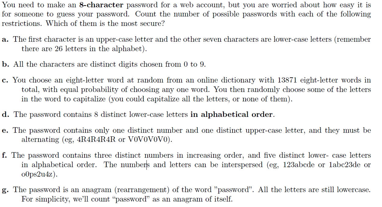 8 Letter Passwords Mersnoforum