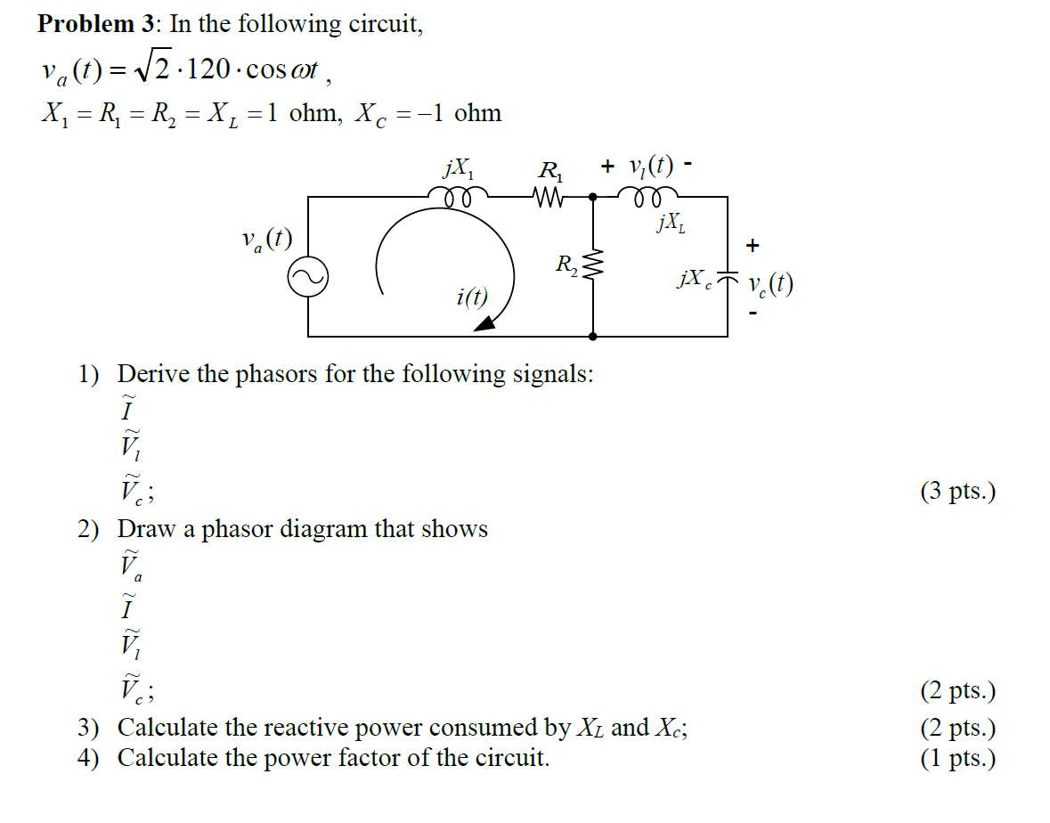 In the following circuit, v0(t) = root 2.120 .cos