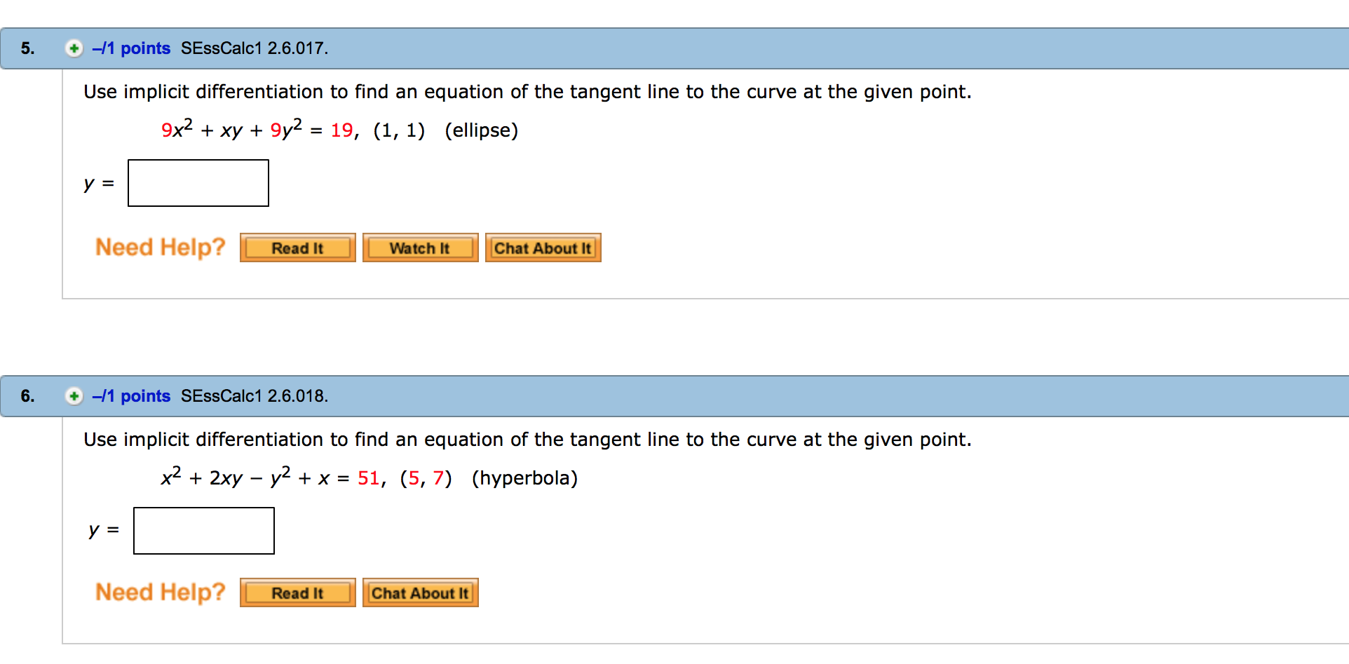 Question: Use Implicit Differentiation To Find An Equation O