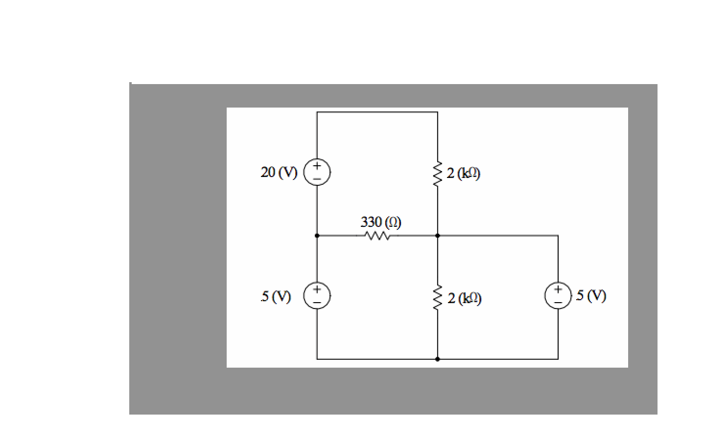 Assign a voltage and current variable to every ele