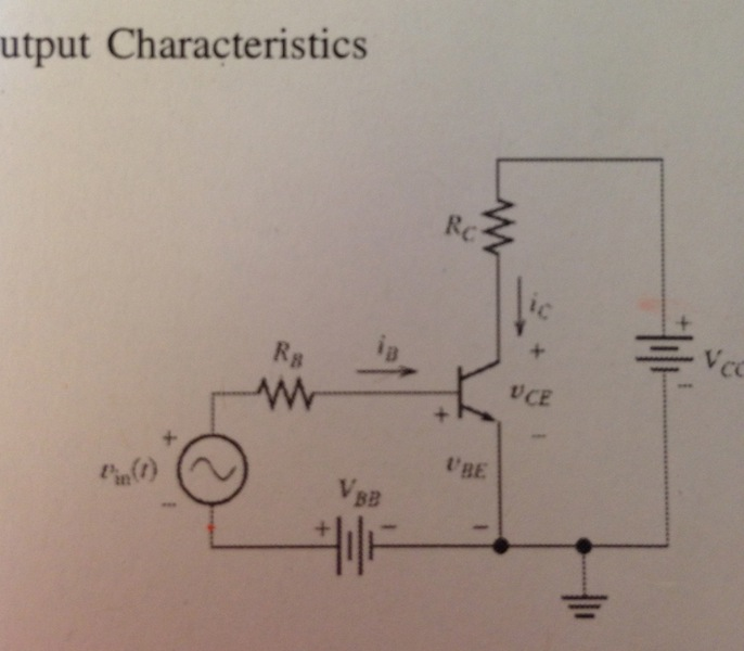Consider the circuit in Fig. Assume Vcc = 20V, VBb