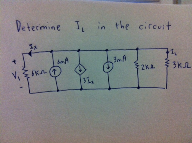 Determine Ic in the circuit