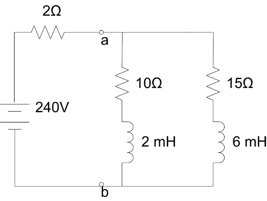 Circuit given in Figure 1 is short circuited