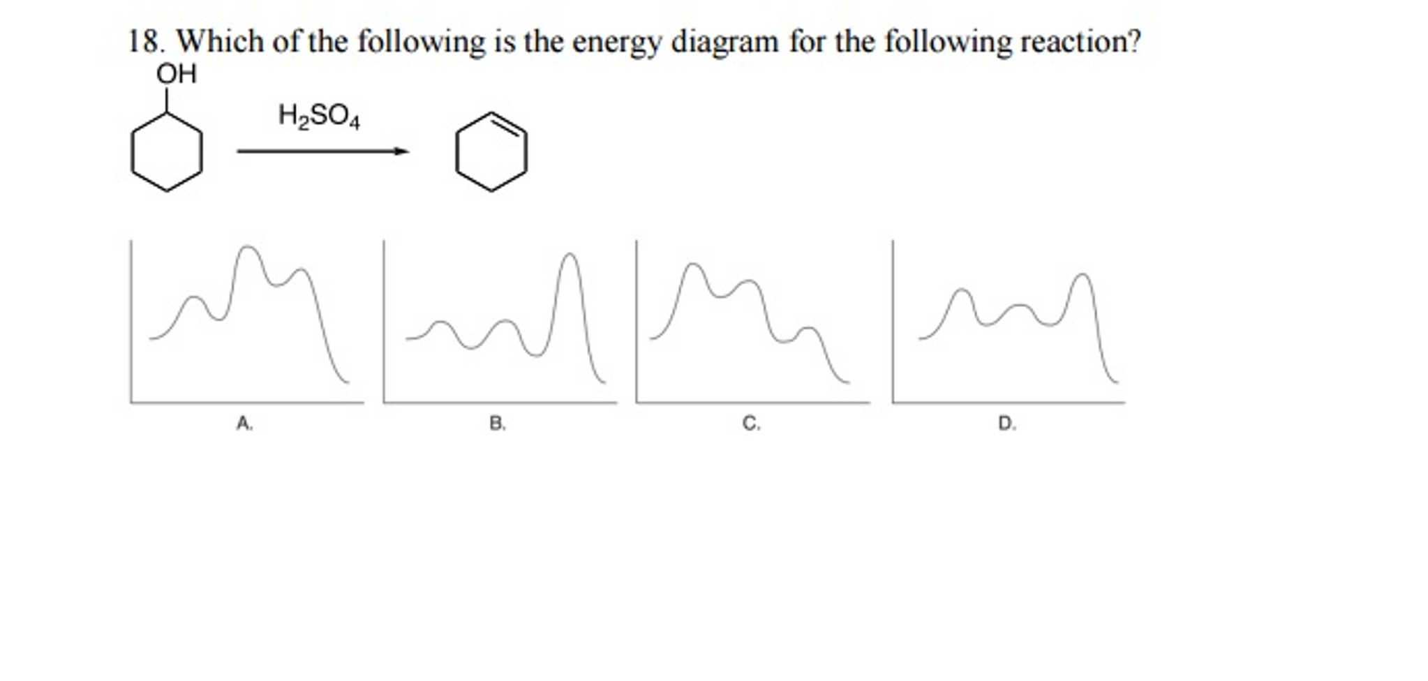 Which of the following is the energy diagram for t chegg question which of the following is the energy diagram for the following reaction pooptronica