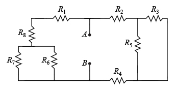 For the circuit shown(Figure 4) , what is the equi