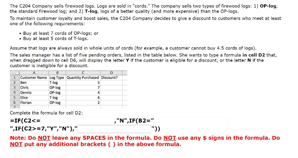 sales logs