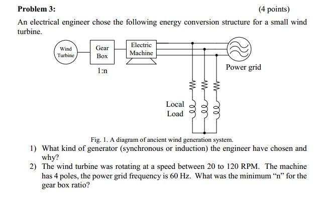 An electrical engineer chose the following energy
