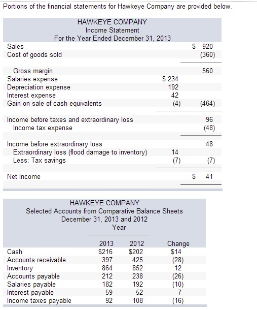 cash flow statement direct method solved examples pdf