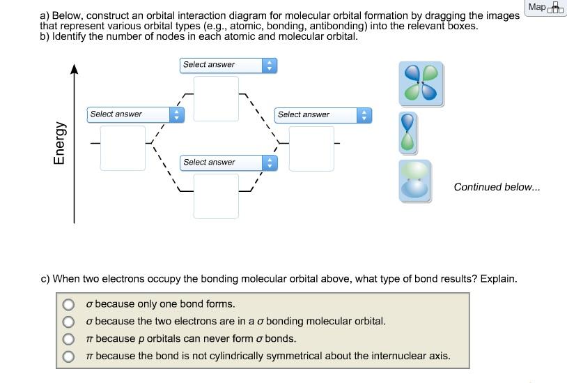 Molecular Orbital Diagram H2 Sapling Learning Auto Electrical