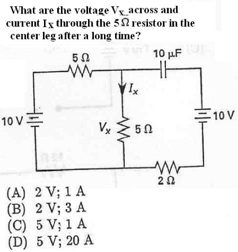 What are the voltage VX - - across and current I
