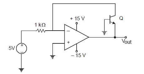 In the circuit shown below what is the output volt