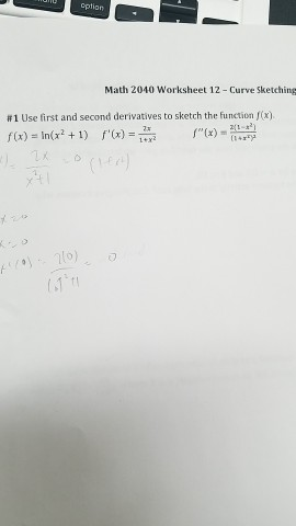Solved: Use First And Second Derivatives To Sketch The Fun ...