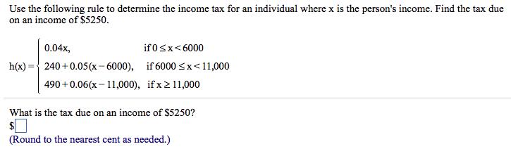 person in income tax