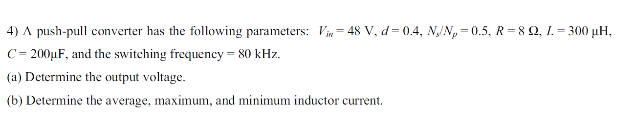 Please show clear equations to go along with