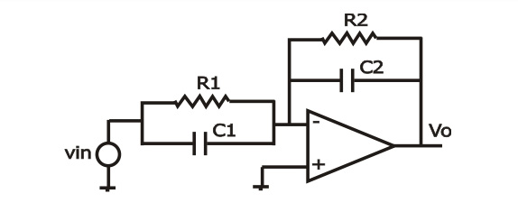 a) The figure shows the circuit diagram of an