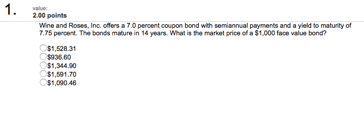 bond and percent coupon selling The issuer may decide to sell five-year bonds with an annual coupon of 5% at  the  in the market, bond prices are quoted as a percent of the bond's face value.