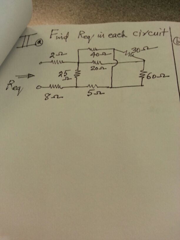 Find Reg is each circuit