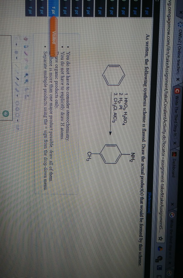 Solved: X Y Owlv2 | Online Teachin/X Write The Third Step ...