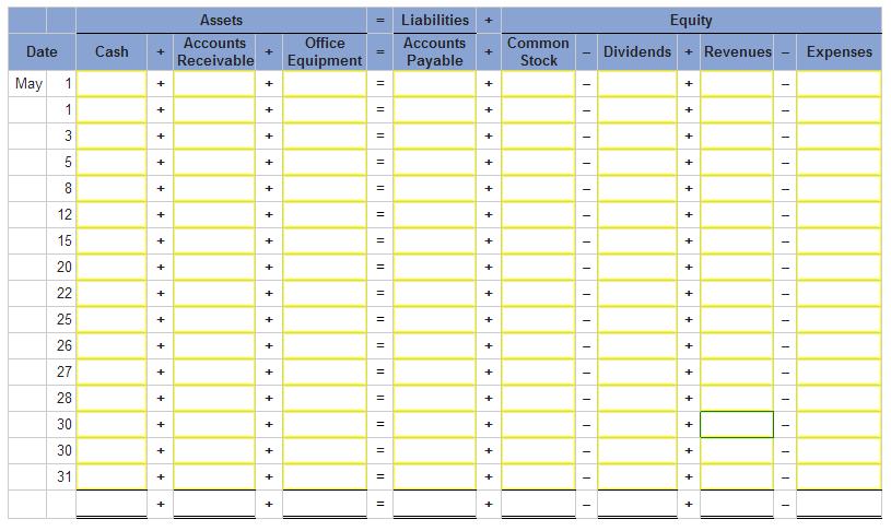 Accounting Worksheet Print : Free worksheets library download and print