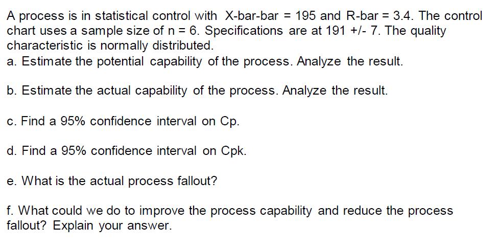 pdf x bar r chart example