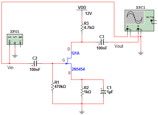 Given the circuit in Figure 1, calculate the dc