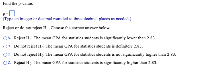 thirty gpas from a randomly selected sample of sta com statistics help please