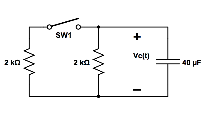 By using the diagram below, determine the current