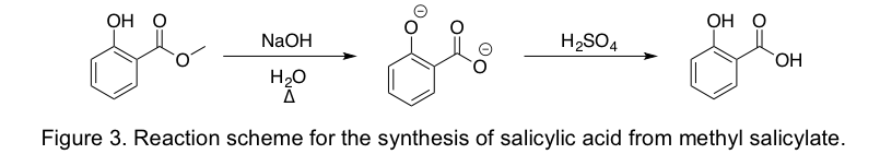 synthesis of salicylic acid from wintergreen oil Synthesis of oil of wintergreen pre- lab discussion: methyl salicylate c6h4 ( ho) cooch3, also known as salicylic acid methyl ester, oil of wintergreen, is a natural product of many species of plants.