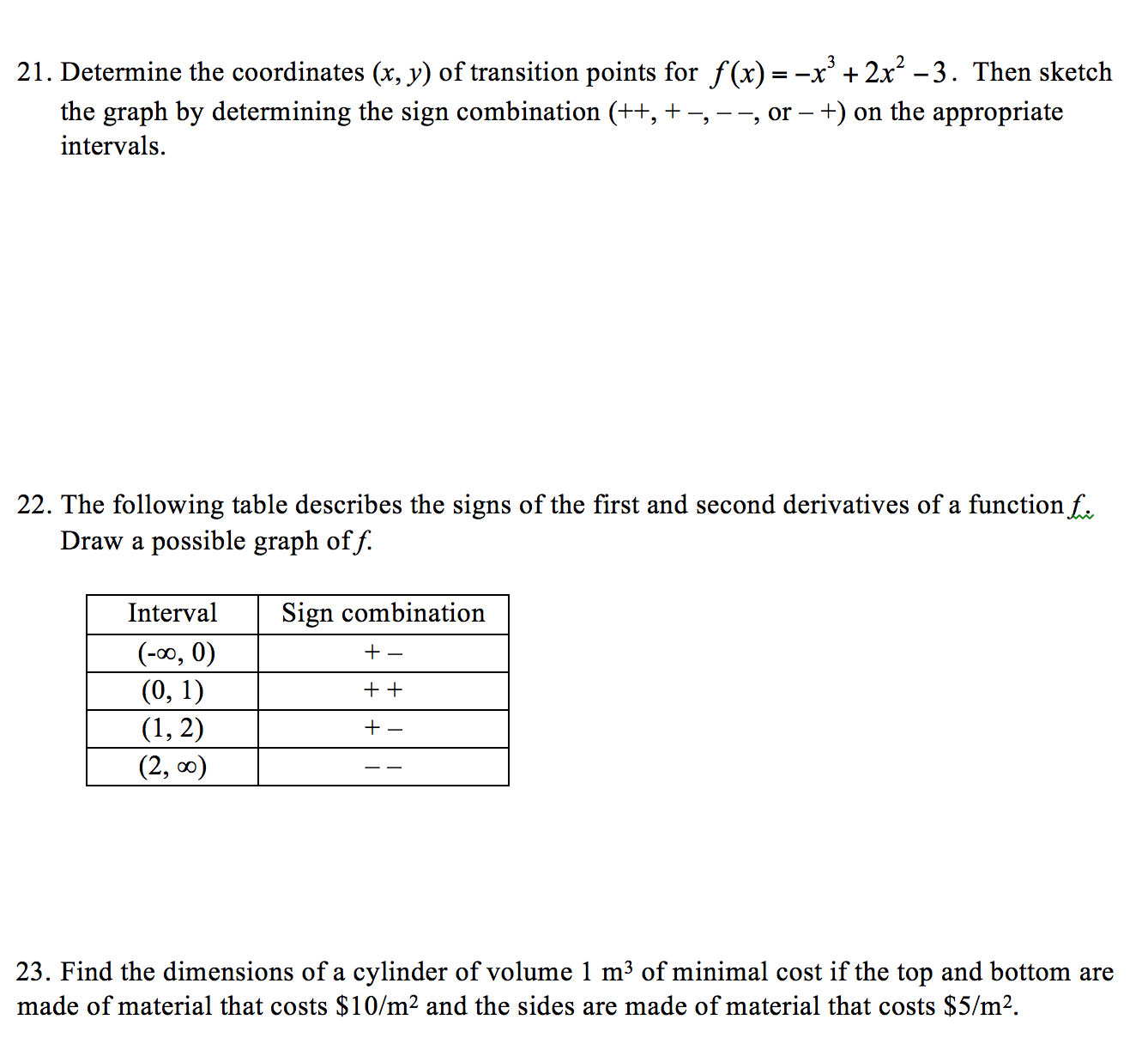 Determine The Coordinates (x, Y) Of Transition Poi How Do I Find The