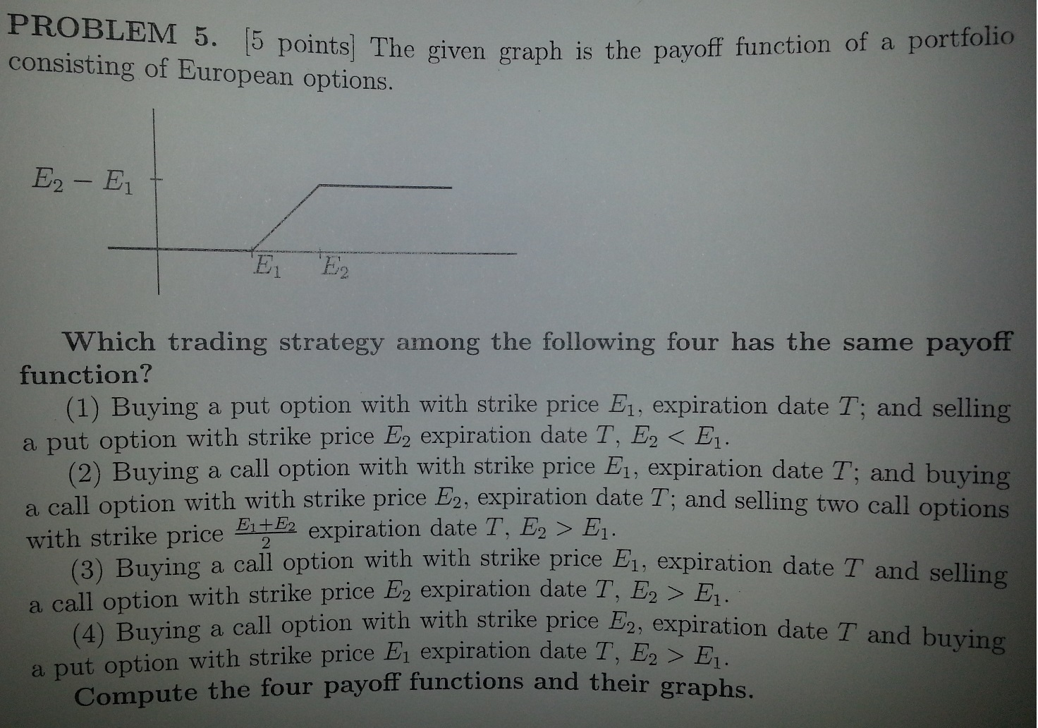 Options trading questions and answers