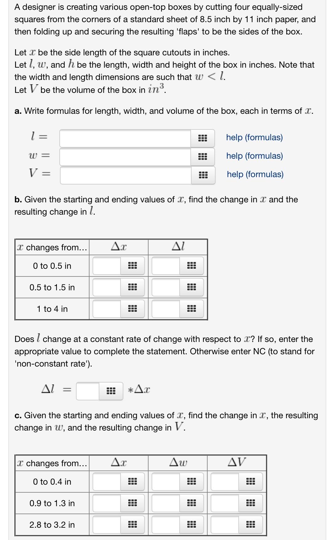 standard sheet of paper