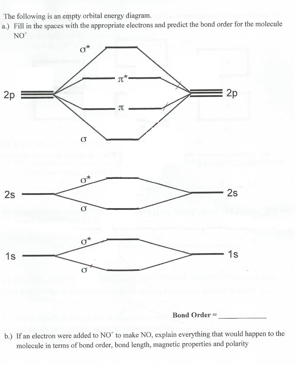 Solved the following is an empty orbital energy diagram question the following is an empty orbital energy diagram fill in the spaces with the appropriate electr pooptronica Gallery