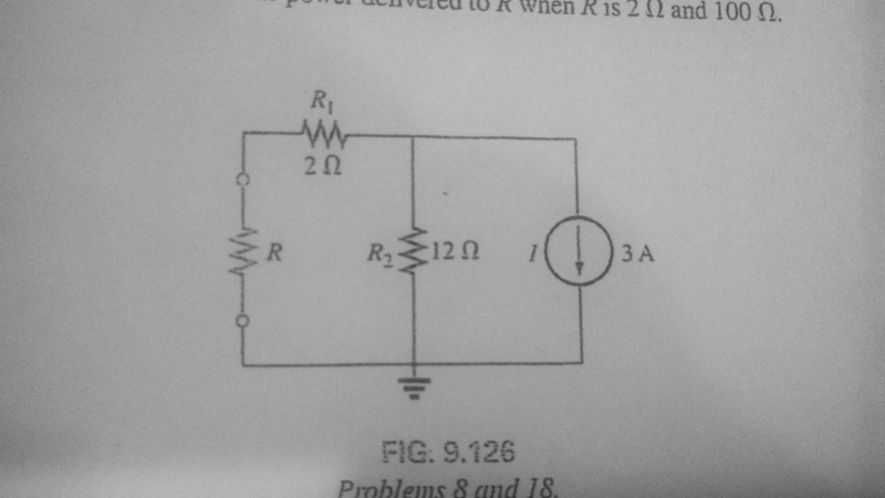 a. Find the Thevenin equivalent circuit for the ne