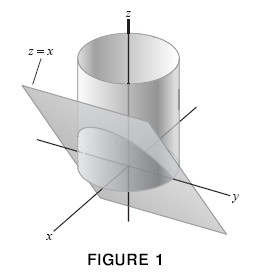 how to find the volume of a triangular wedge