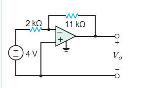 Find V0 in the circuit in the figure bel