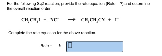how to find rate equation