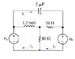 Problem 1:In the following time-domain circuit,&nb
