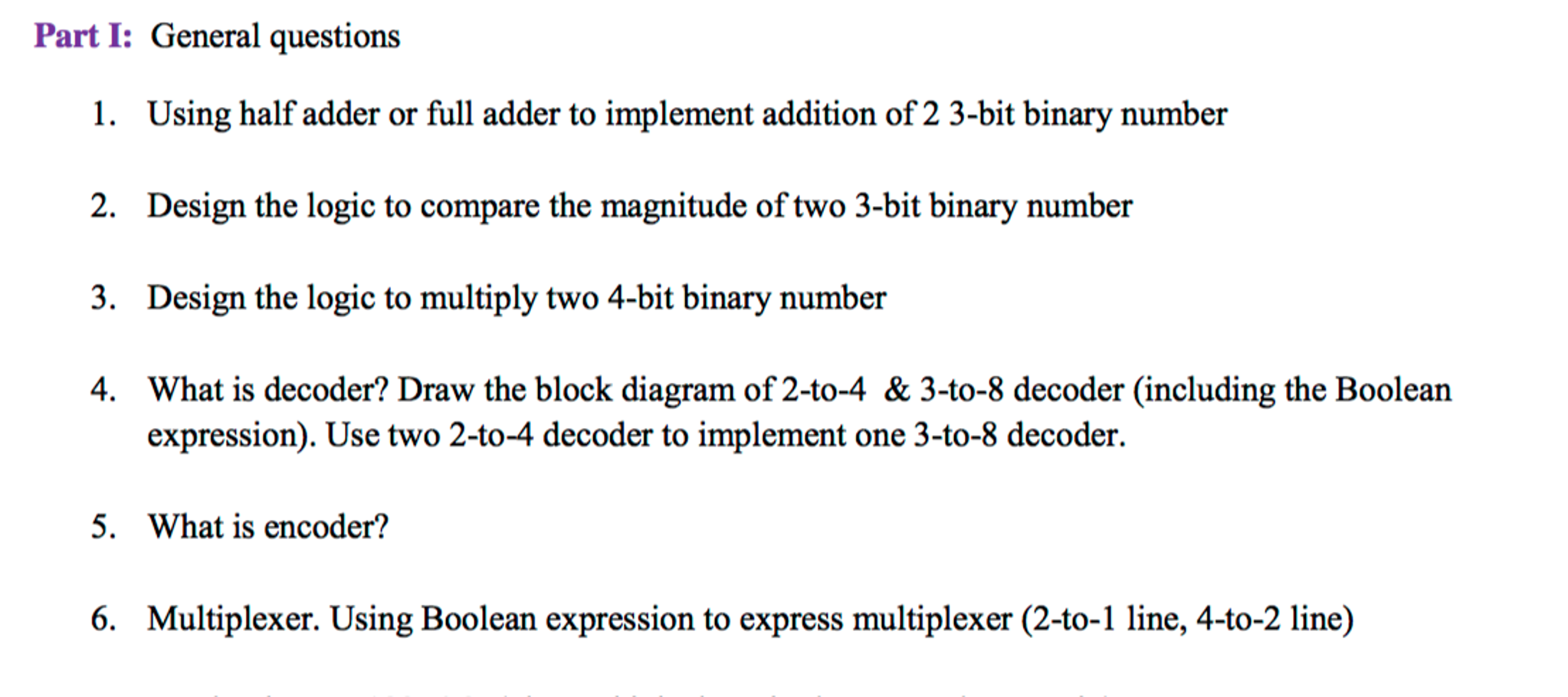 Solved using half adder or full adder to implement additi expert answer pooptronica Images