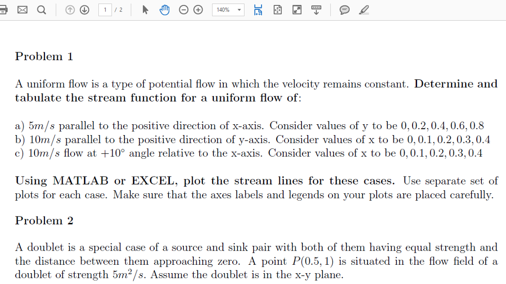 how to find velocity potential from stream function