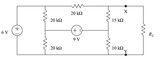 a. Calculate the open-circuit voltage voc at termi