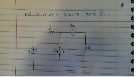Find maximum power and RL.