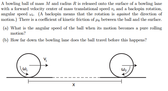 mass and bowling ball 31-10-2012 a 22 cm diameter bowling ball has a terminal speed of 77 m/s what is the ball's mass here is the work i have done that is.