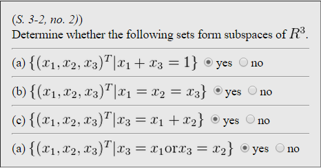 S. 3-2, No. 2)) Determine Whether The Following S... | Chegg.com
