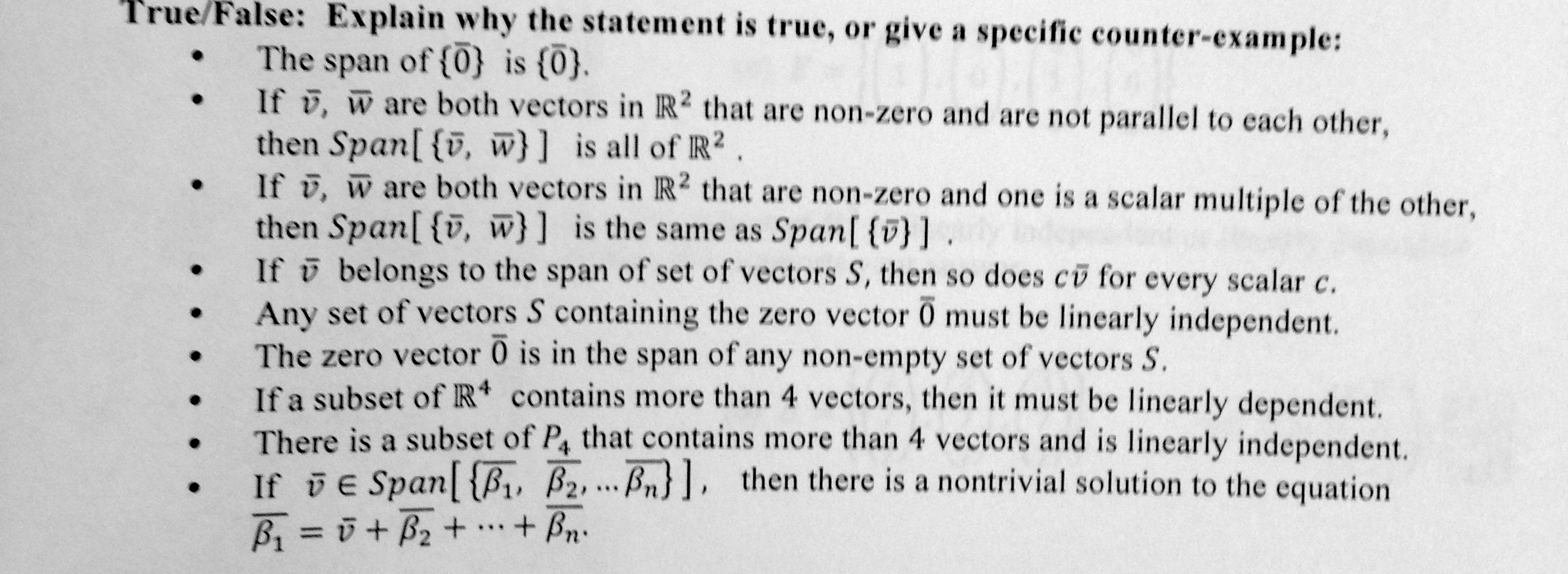 Parallel vectors are scalar multiples