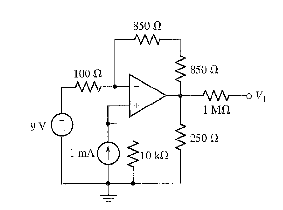 fIND voltage in V1