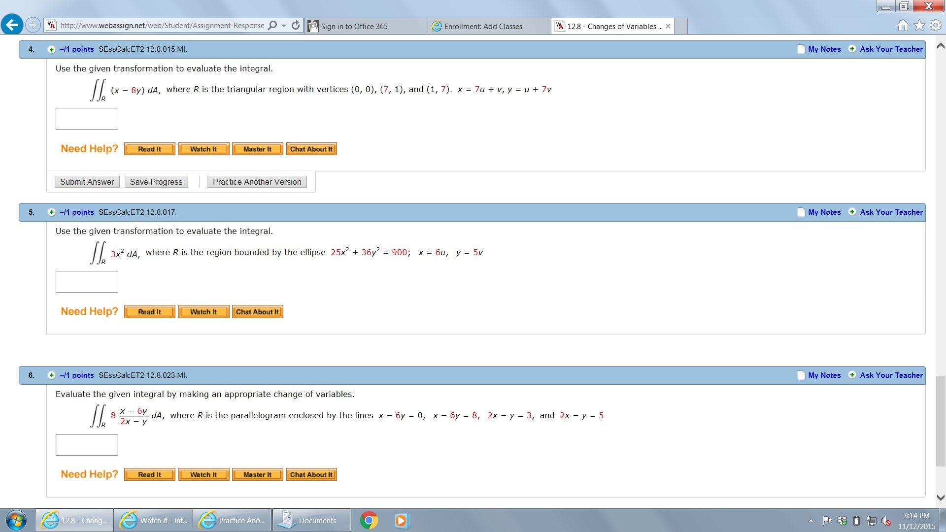 VA Http//www.webassign.net/web/Student/Assignment ...   Chegg.com