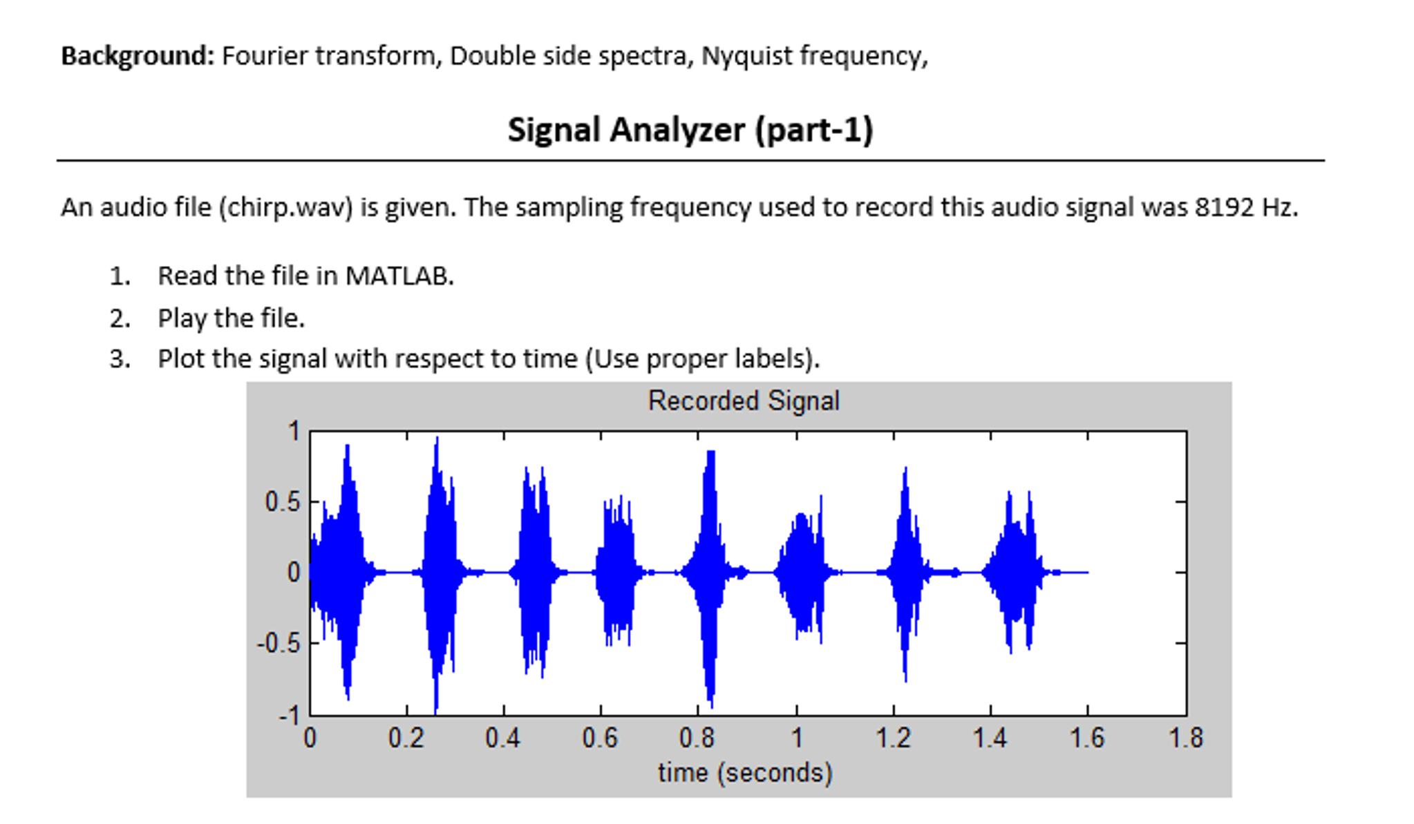 matlab help y fs audio chirp wav %rea com