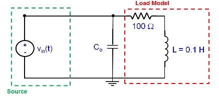 For this circuit, Vin(t) = 5cos(2000t + 0.83) Vr
