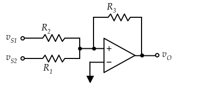 In the circuit shown below R1 = 5 k?, R2 = 9 k? an