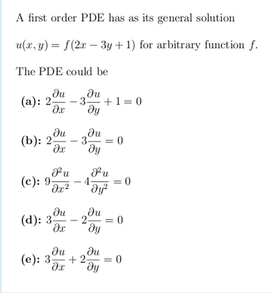 thesis on partial differential equations Selected topics in partial differential selected topics in partial differential equations is partial differential equations (pdes) this thesis deals with.